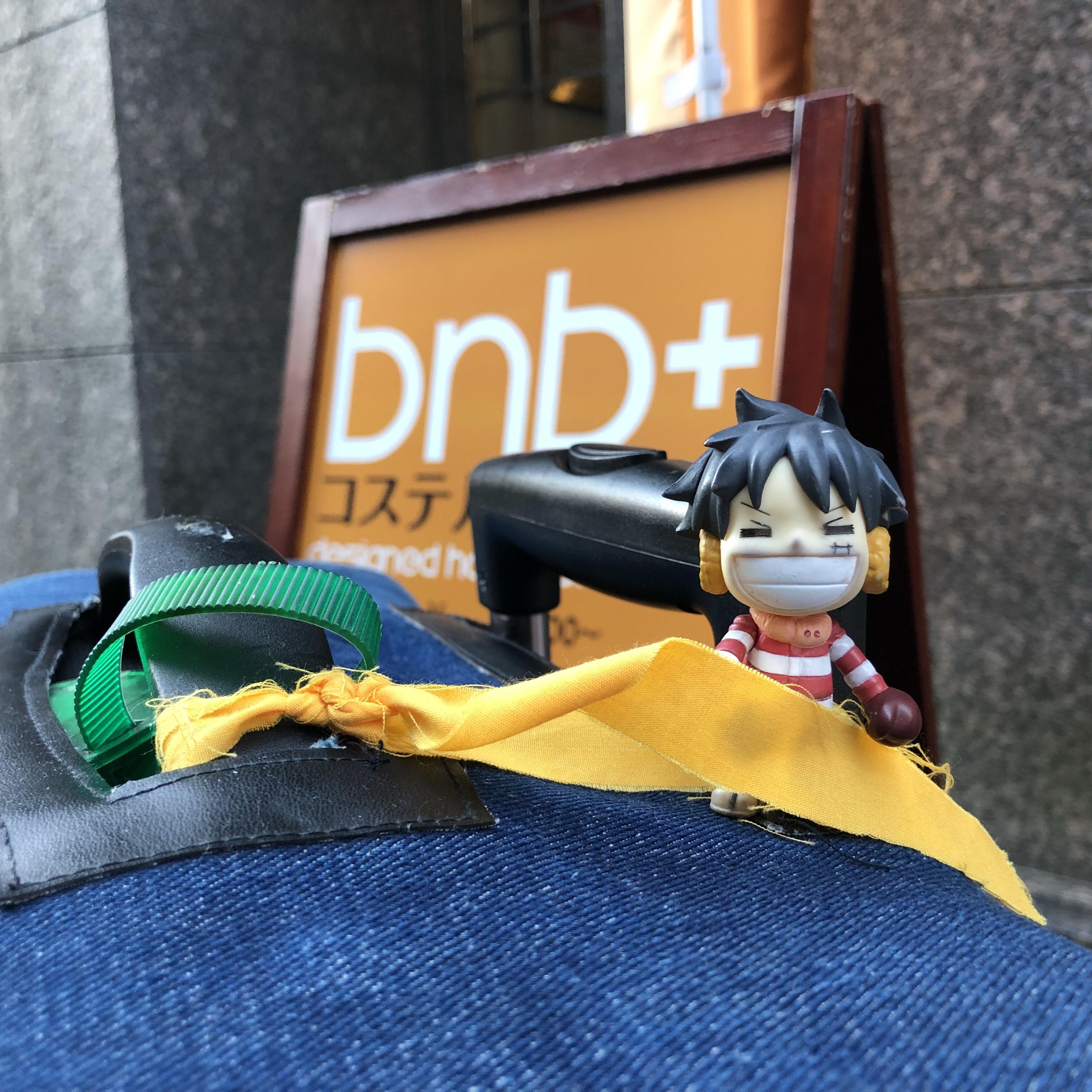 Luffy with bnbplus